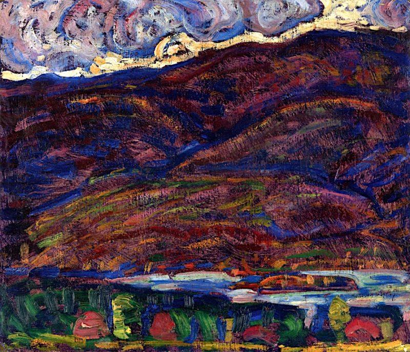Autumn Color   Marsden Hartley   oil painting