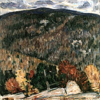 Landscape No. 25 | Marsden Hartley | oil painting