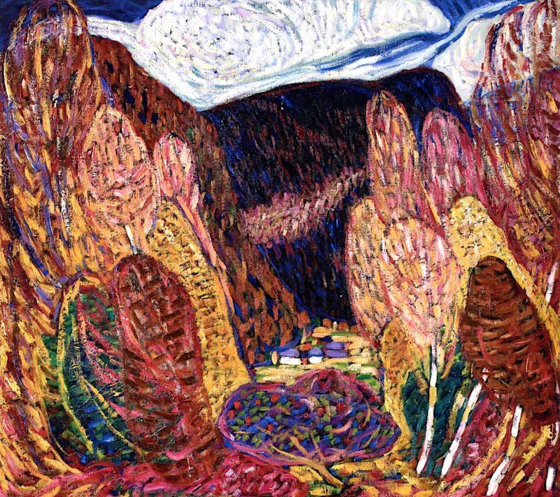 Landscape No. 36 | Marsden Hartley | oil painting