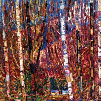 Maine Woods | Marsden Hartley | oil painting