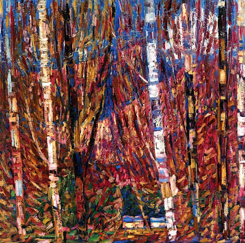 Maine Woods   Marsden Hartley   oil painting