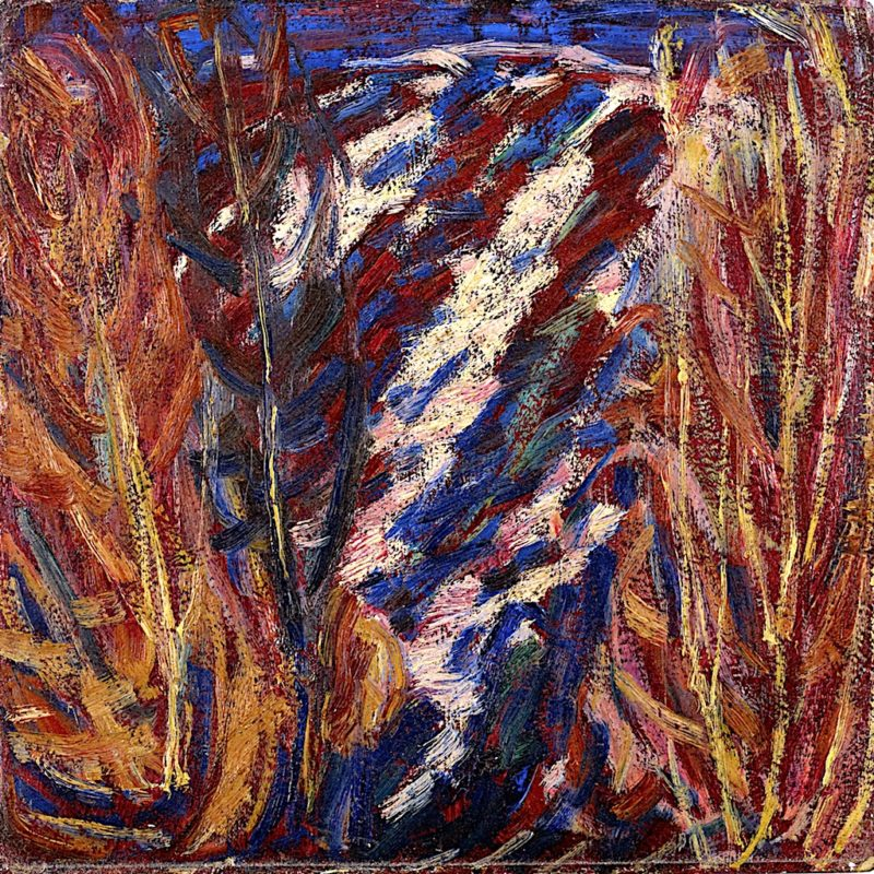Maine Landscape | Marsden Hartley | oil painting