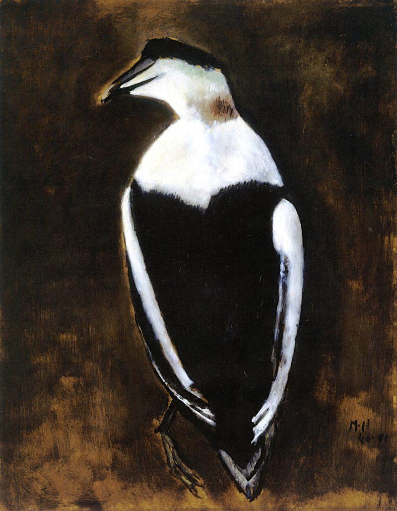 Black Duck   Marsden Hartley   oil painting