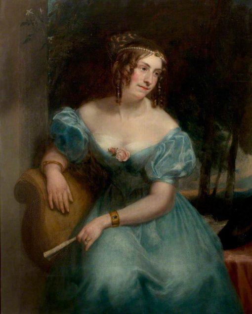 Countess Teresa Guiccioli (c.1800–1873) | Henry William Pickersgill | oil painting