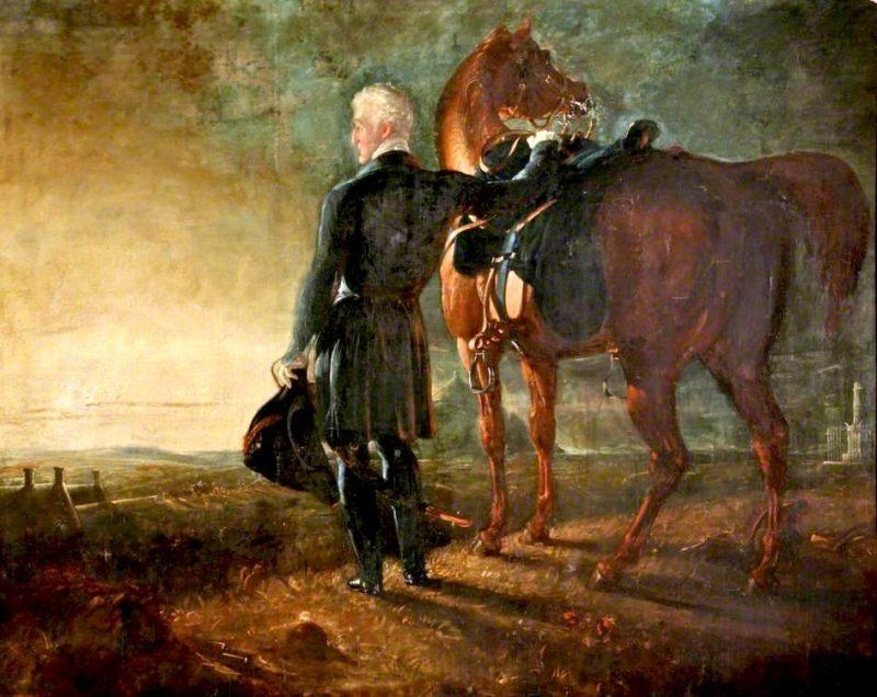 Wellington on the Field of Waterloo | Benjamin Robert Haydon | oil painting