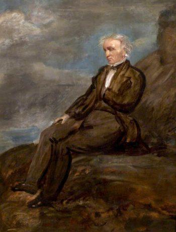 Wordsworth on Helvellyn | Benjamin Robert Haydon | oil painting
