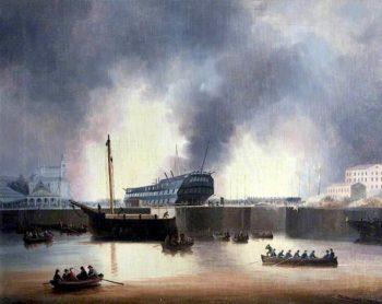 Dockyard Fire