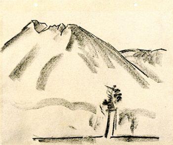 Mount Katahdin No. 1 | Marsden Hartley | oil painting