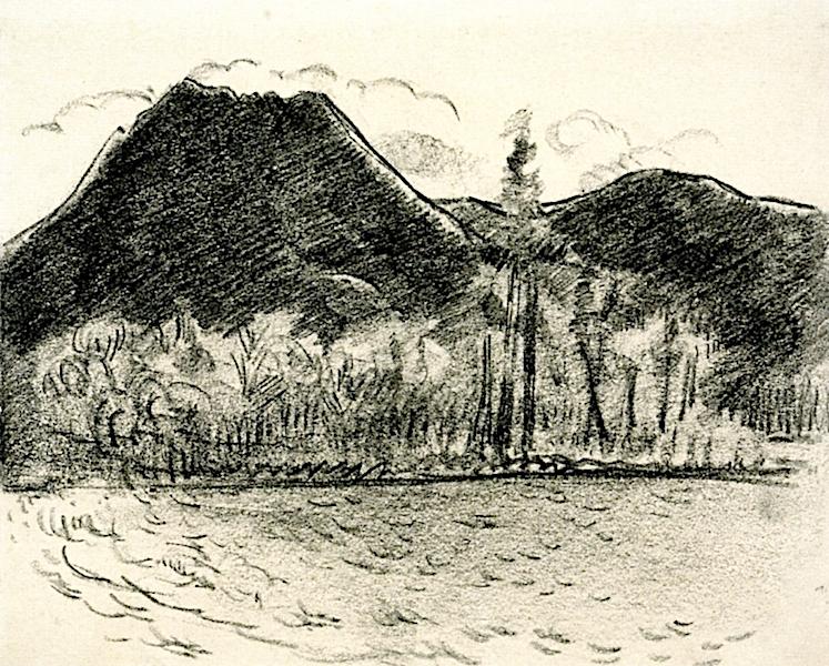 Mount Katahdin | Marsden Hartley | oil painting