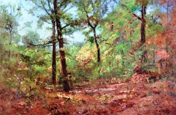 Forest in Summer | Theodore Clement Steele | oil painting