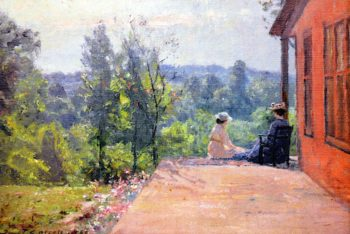 Afternoon at House of the Singing Wind | Theodore Clement Steele | oil painting