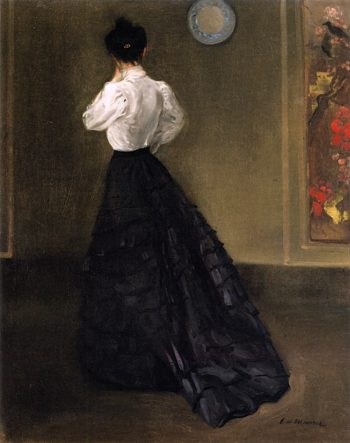 Woman in White Blouse | Alfred Henry Maurer | oil painting