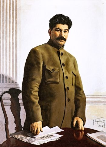 Portrait of Joseph Stalin | Isaak Brodsky | oil painting