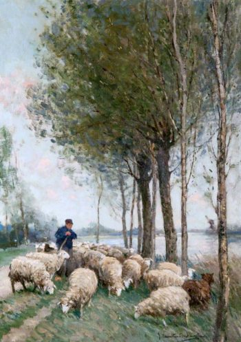 A Pastoral | James Hamilton Mackenzie | oil painting