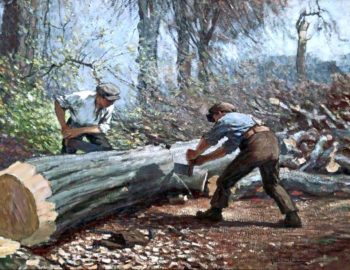 The Woodcutters | James Hamilton Mackenzie | oil painting