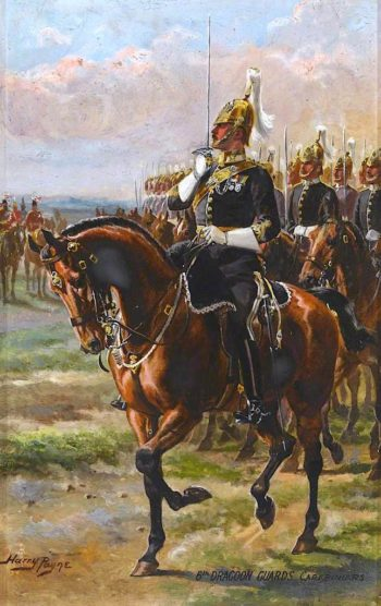6th Dragoon Guards Carabiniars | Harry Payne | oil painting