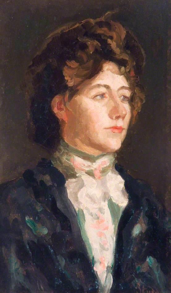 Portrait of a Lady   Arthur Studd   oil painting