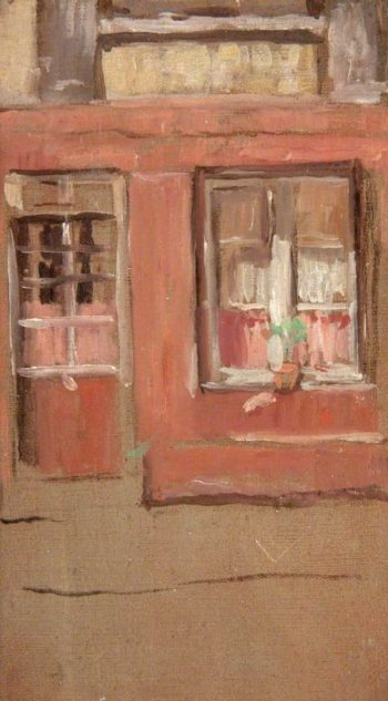 The Front Window | Arthur Studd | oil painting