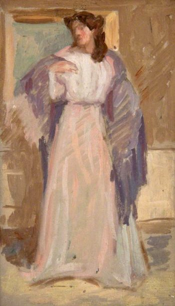 Woman Standing | Arthur Studd | oil painting
