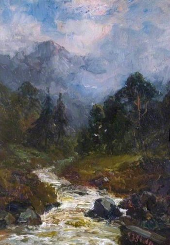 A Glen | John Falconer Slater | oil painting
