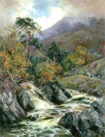 Landscape with Mountain Stream | John Falconer Slater | oil painting