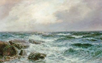 Seascape | John Falconer Slater | oil painting