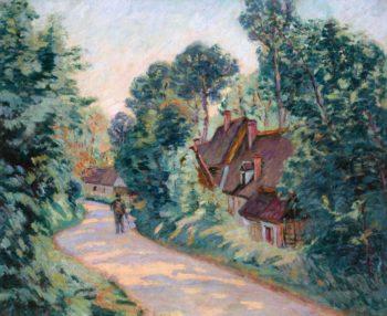La route des Chintres à Jouy | Armand Guillaumin | oil painting