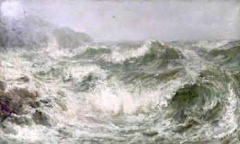 Stormy Sea | John Falconer Slater | oil painting