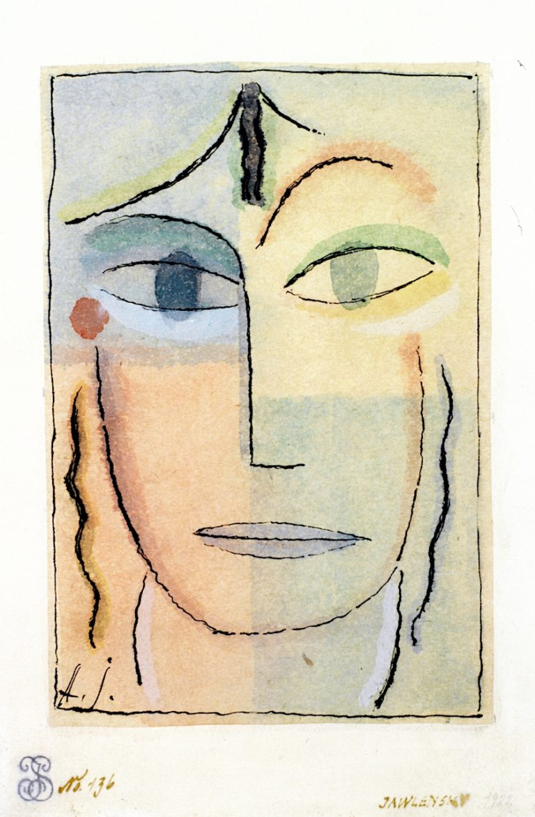 Head of a Woman | Alexei von Jawlensky | oil painting