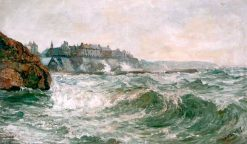 Stormy Sea at Cullercoats