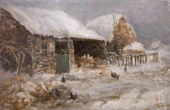 Winter Weather | John Falconer Slater | oil painting