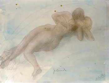 Pleiade | Auguste Rodin | oil painting