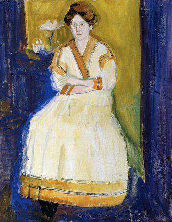 Mathilde Schönberg | Richard Gerstl | oil painting