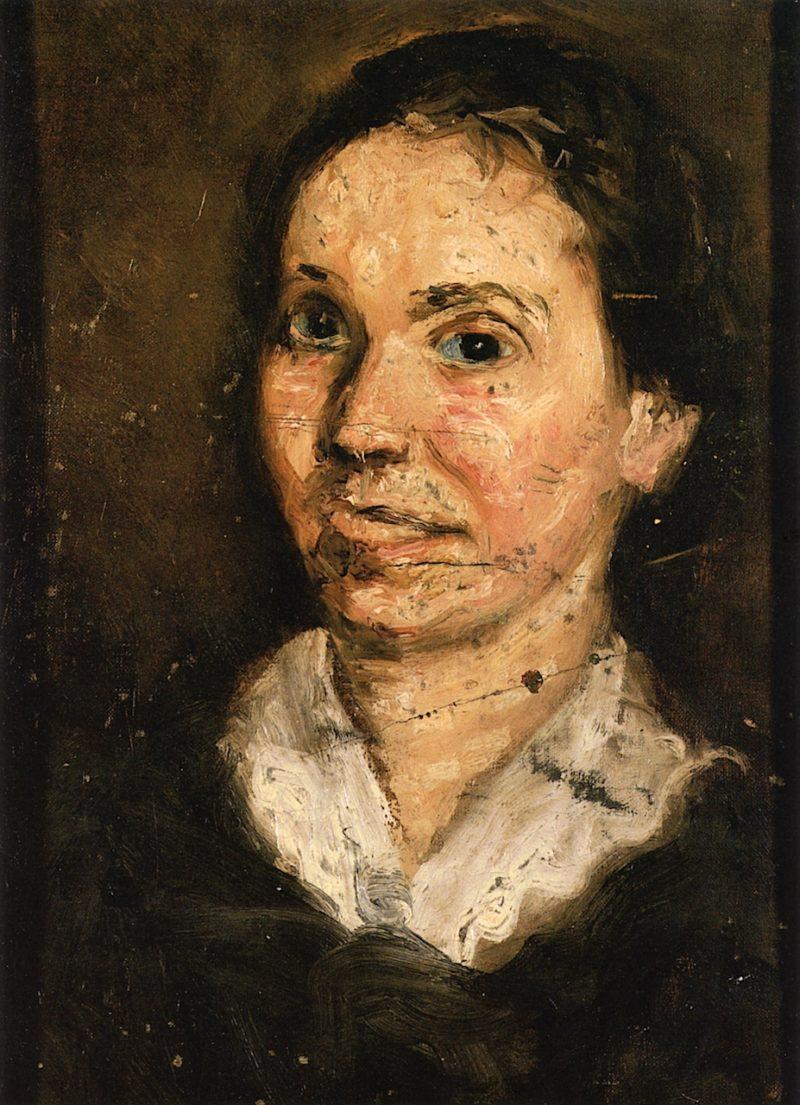 Head of a Woman | Richard Gerstl | oil painting