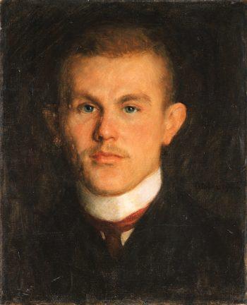 Portrait of Waldemar Unger I | Richard Gerstl | oil painting