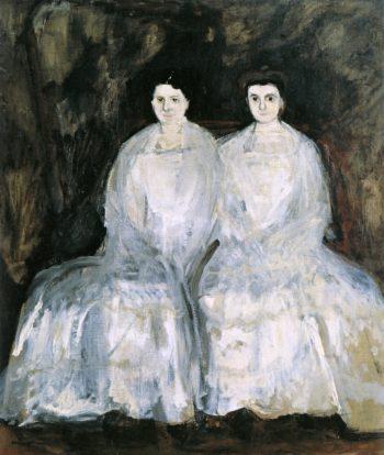 The Sisters Karoline and Pauline Fey | Richard Gerstl | oil painting