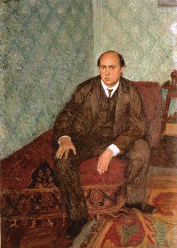 Portrait of Arnold Schönberg | Richard Gerstl | oil painting
