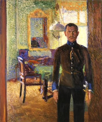Portrait of Lieutenant Alois Gerstl | Richard Gerstl | oil painting