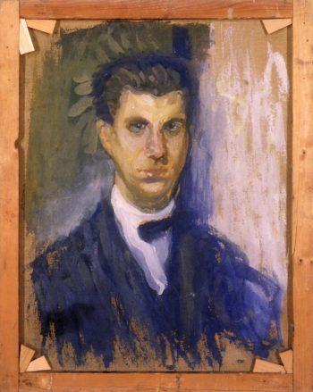 Self - Portrait (study)   Richard Gerstl   oil painting