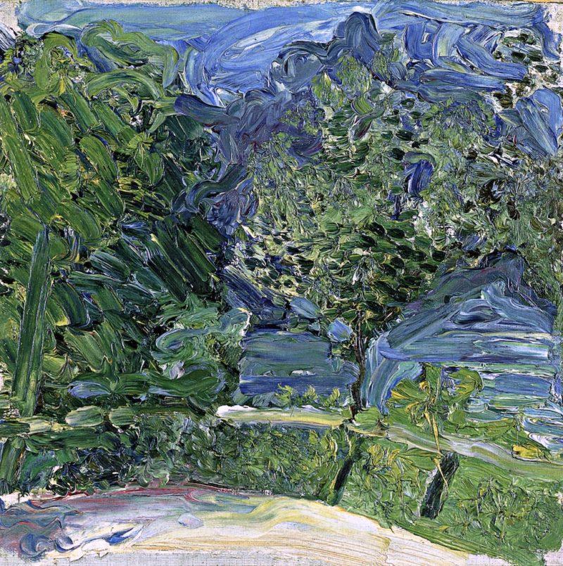 Lakeside Road near Gmunden | Richard Gerstl | oil painting
