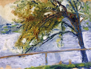 Tree at Traunsee | Richard Gerstl | oil painting