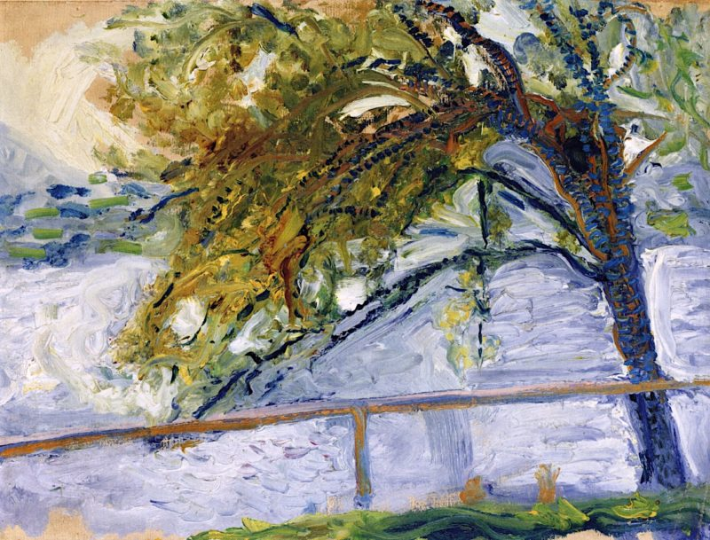 Tree at Traunsee   Richard Gerstl   oil painting