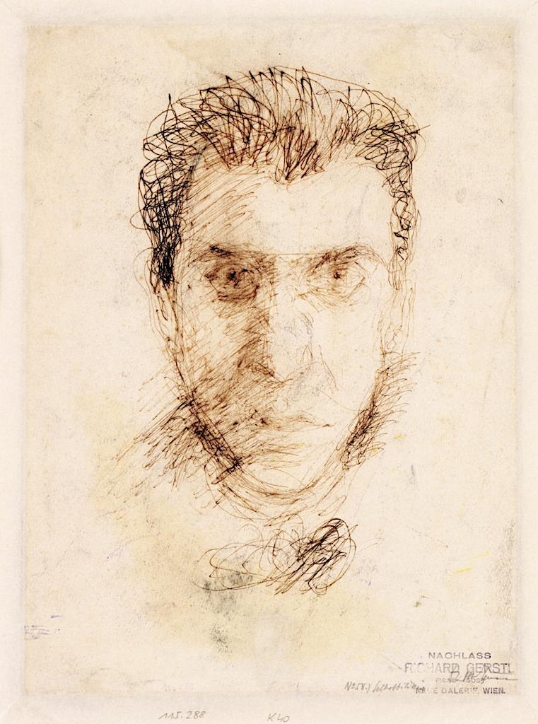 Self - Portrait | Richard Gerstl | oil painting