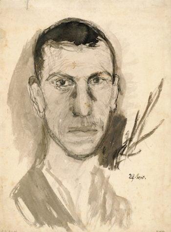Self - Portrait   Richard Gerstl   oil painting