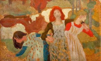 Banks of Fordie | Charles Hodge Mackie | oil painting