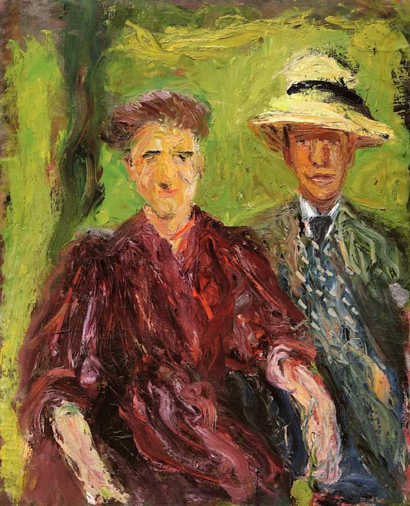Couple in the Field | Richard Gerstl | oil painting