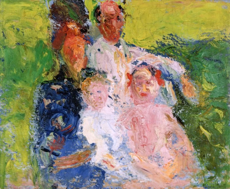 The Schönberg Family   Richard Gerstl   oil painting