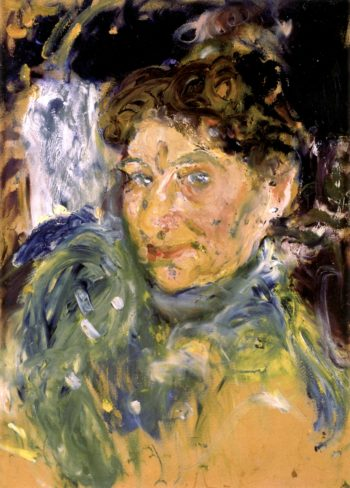Portrait of the Artists Mother Marie Gerstl | Richard Gerstl | oil painting