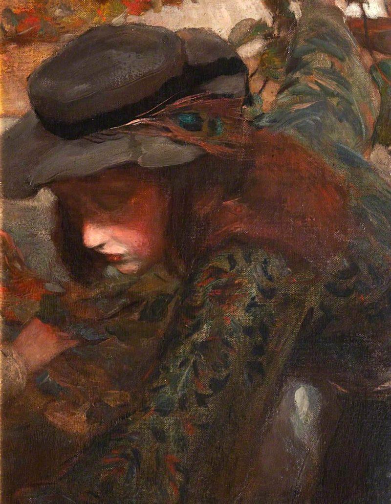 Margaret Cumming   Charles Hodge Mackie   oil painting