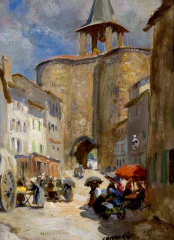 Parthenay | Charles Hodge Mackie | oil painting
